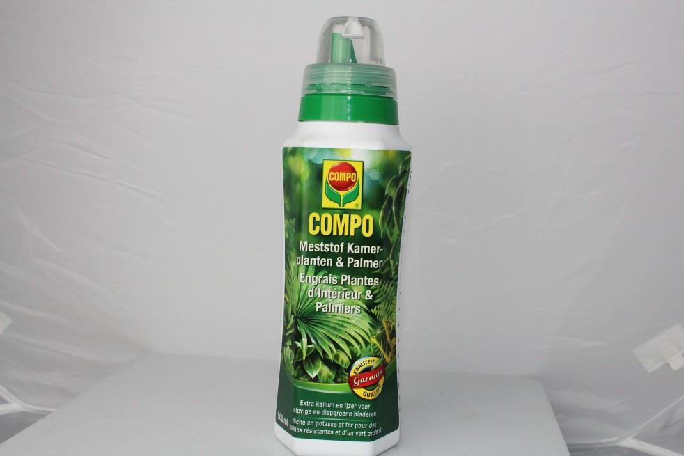 Compo engrais plantes d'intérieur et palmiers 500 ml
