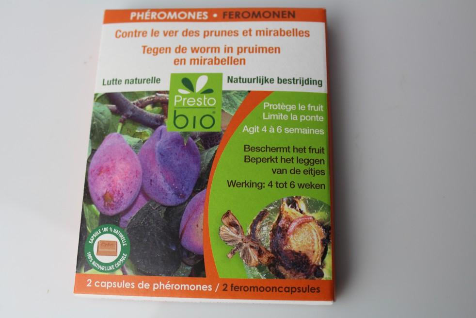 Phéromones PrestoBio contre le ver des prunes et mirabelles