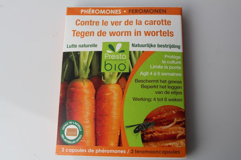 Phéromones contre le ver de la carotte