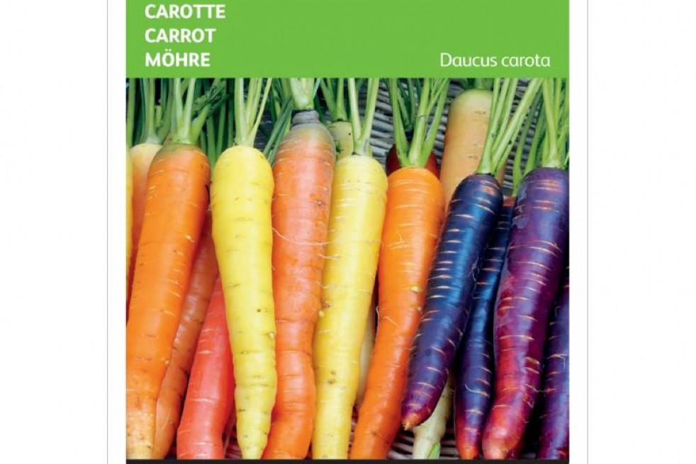 Carrot mix of three colors
