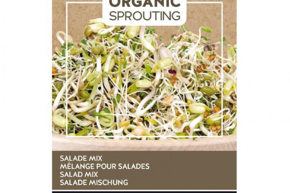 Mélange pour salades à germer, BIO