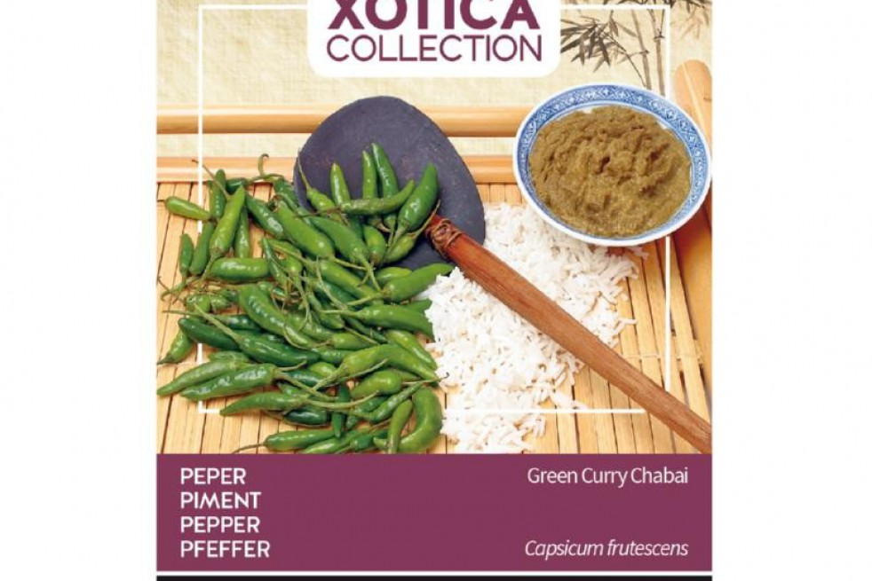 Piment Vert curry Cabai